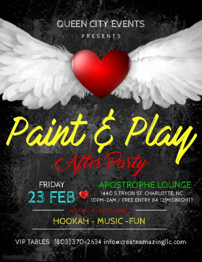 Paint & Play (After Party)