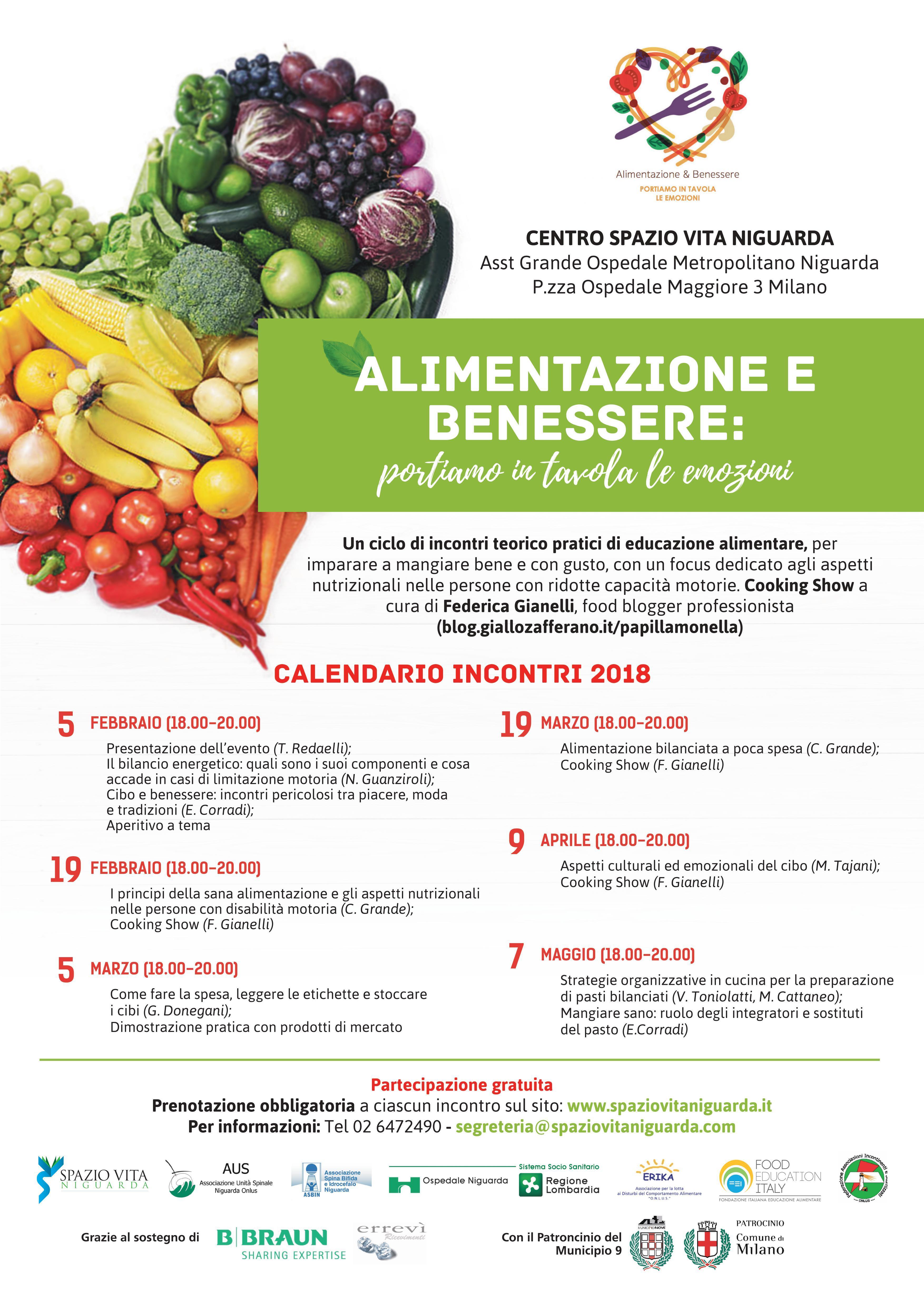 Alimentazione e benessere: portiamo in tavola
