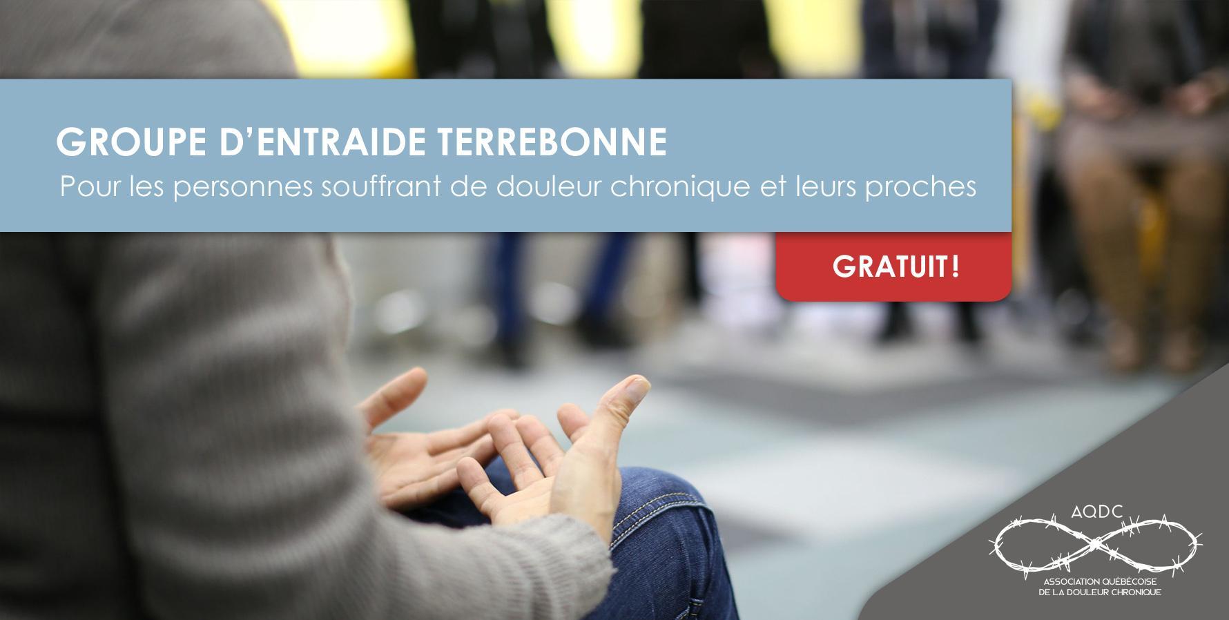 AQDC : Groupe d'entraide Terrebonne - 19 févr