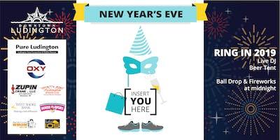 #PureLudington New Year's Eve Ball Drop