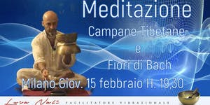 MEDITAZIONE CON CAMPANE TIBETANE E FIORI DI BACH