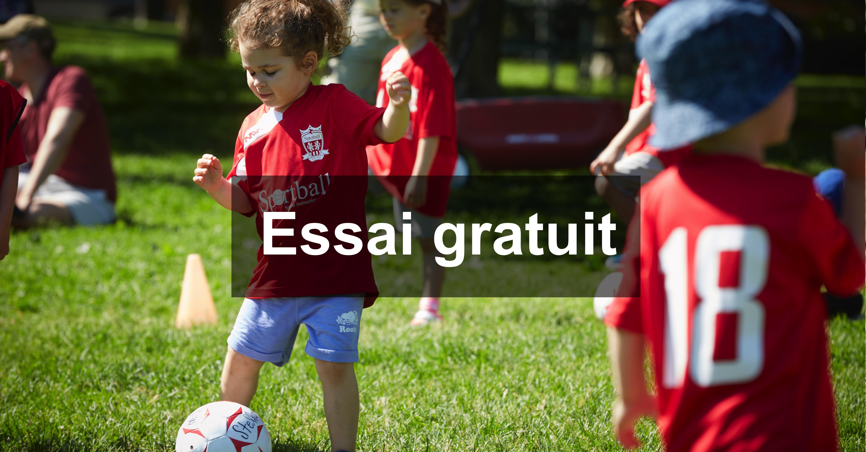 Essai Gratuit de Soccer à Laval - 2 à 9 ans -