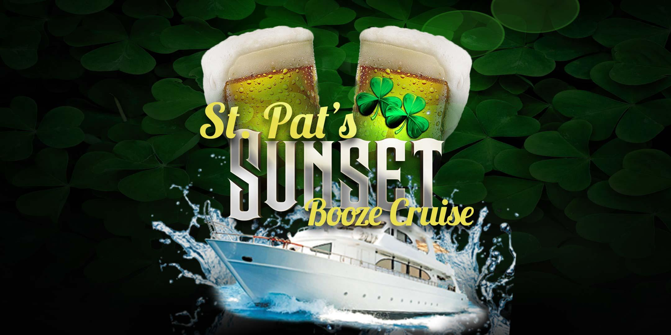 Yacht Party Chicago's St. Pat's Sunset Booze Cruise! (6pm)