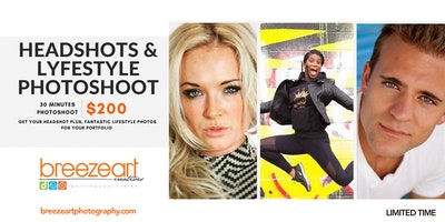 Headshots and LifeStyle photoshoot Downtown Chicago