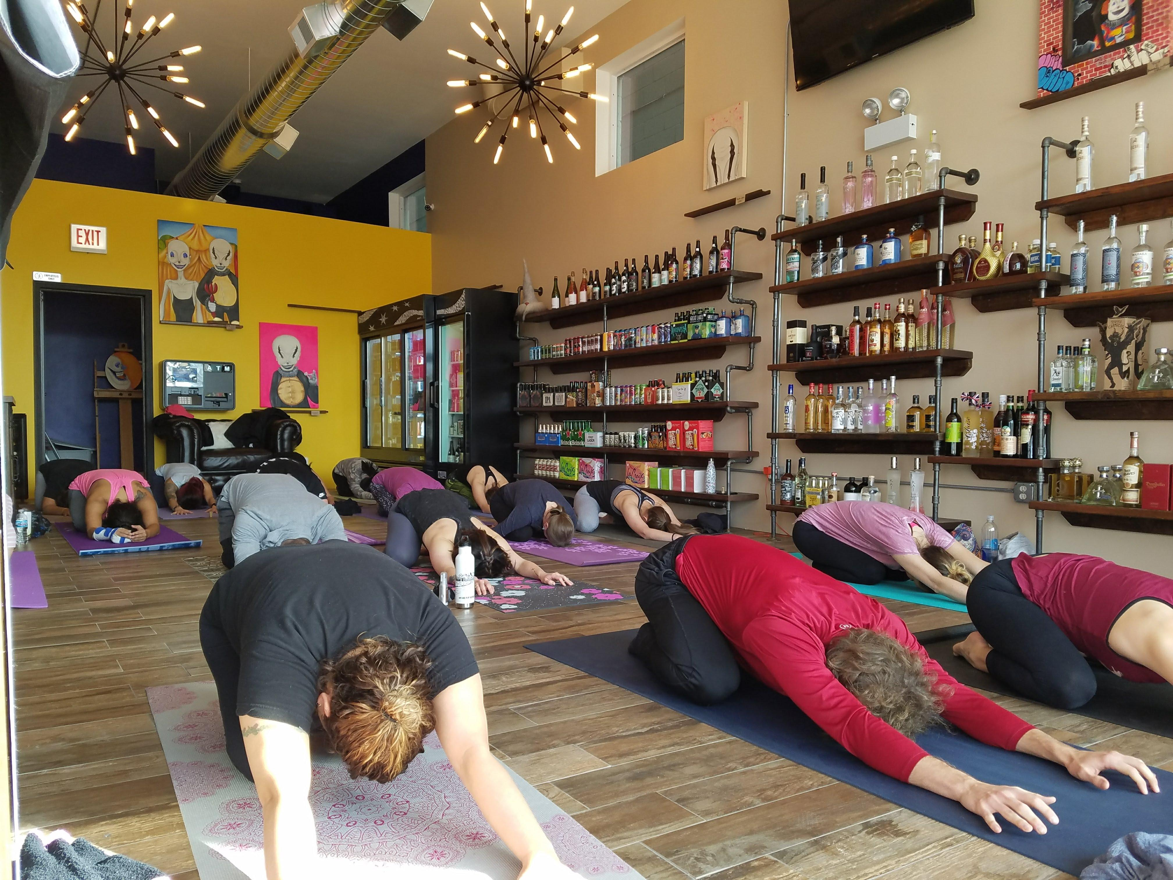 Rise & Wine a Yoga and Wine Tasting Event