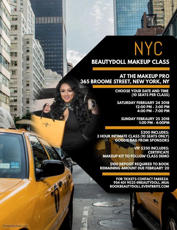 NYC Makeup Class