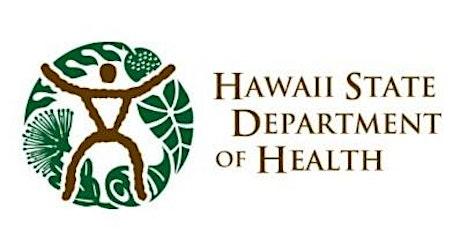 FREE- State of HI, Dept. of Health Food Handler Certificate Class - Kona (Keakealani Bldg.) tickets