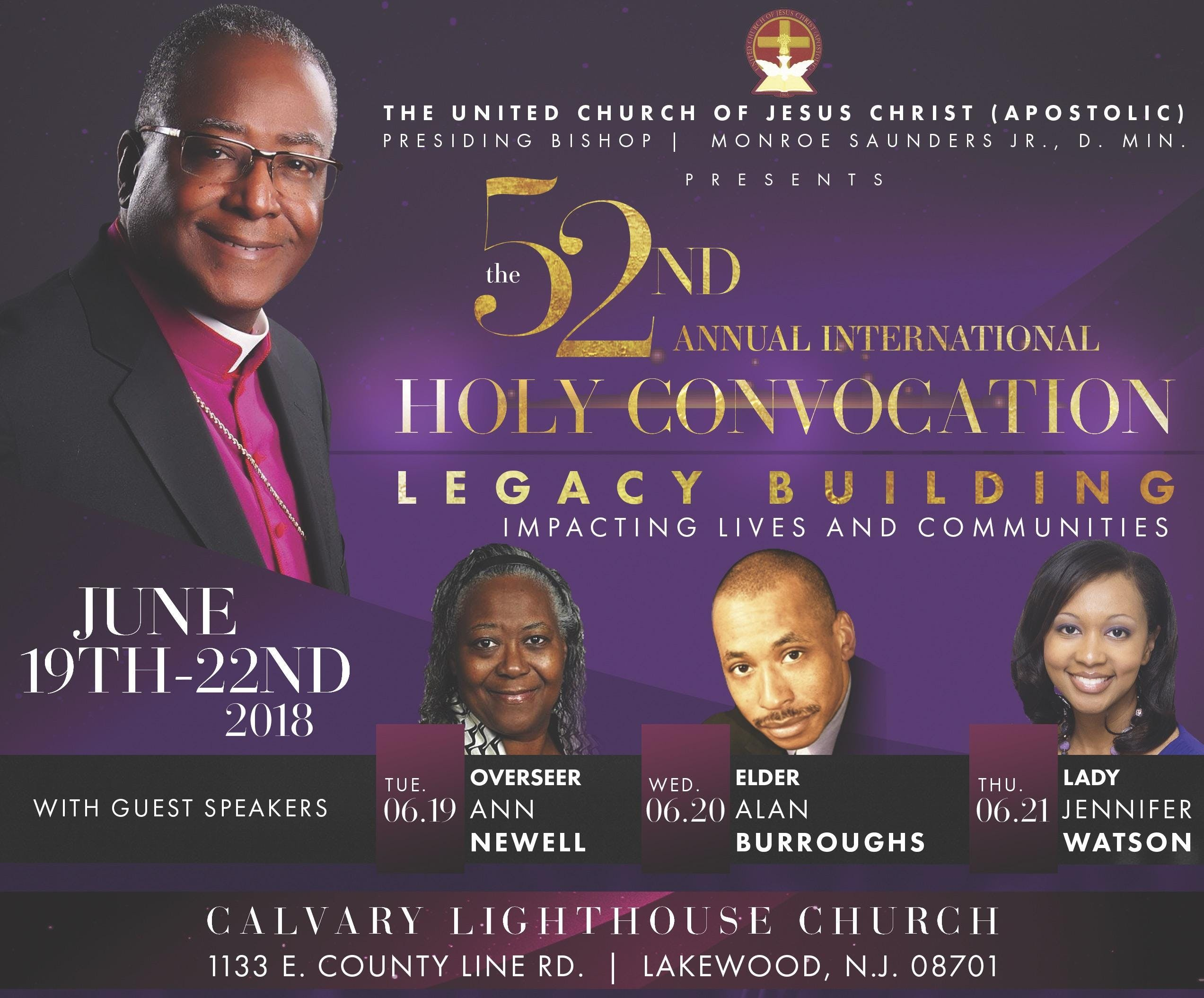 52nd Annual International Holy Convocation