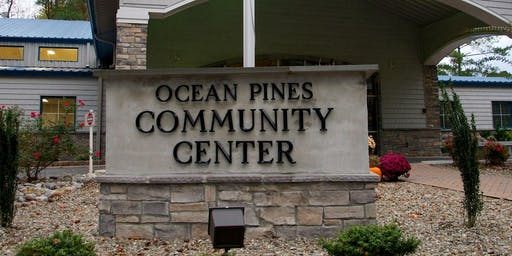 Yoga at the Ocean Pines Community Center with Imad Elali All Levels.