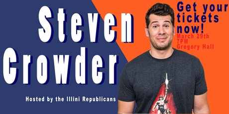 Steven Crowder At The University Of Illinois Tickets