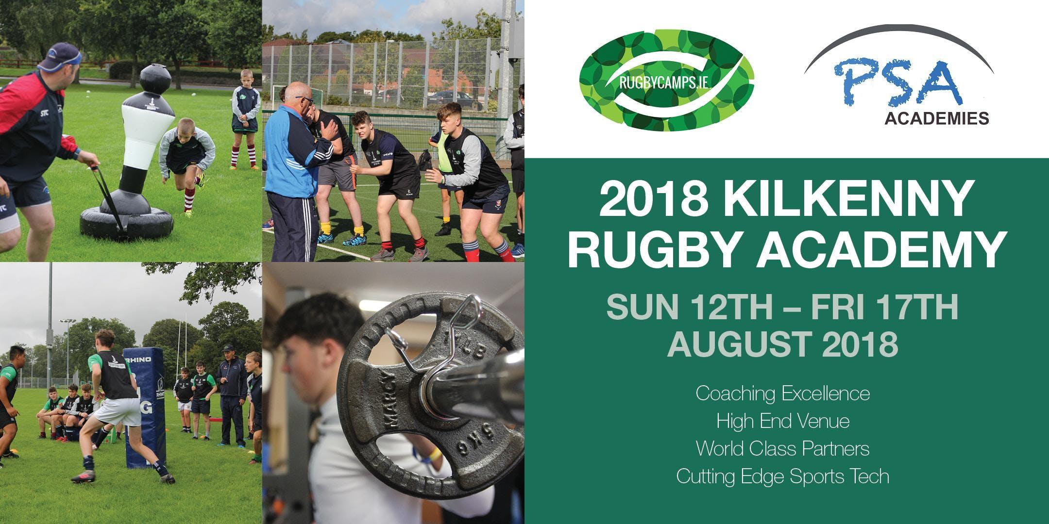 2018 Kilkenny Rugby Academy