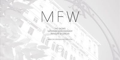 Milan Fashion Week // OFS AW19