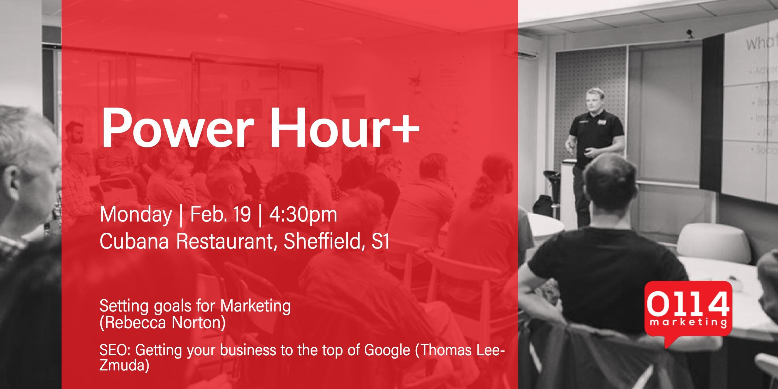 Power Hour+ Getting your business to the top