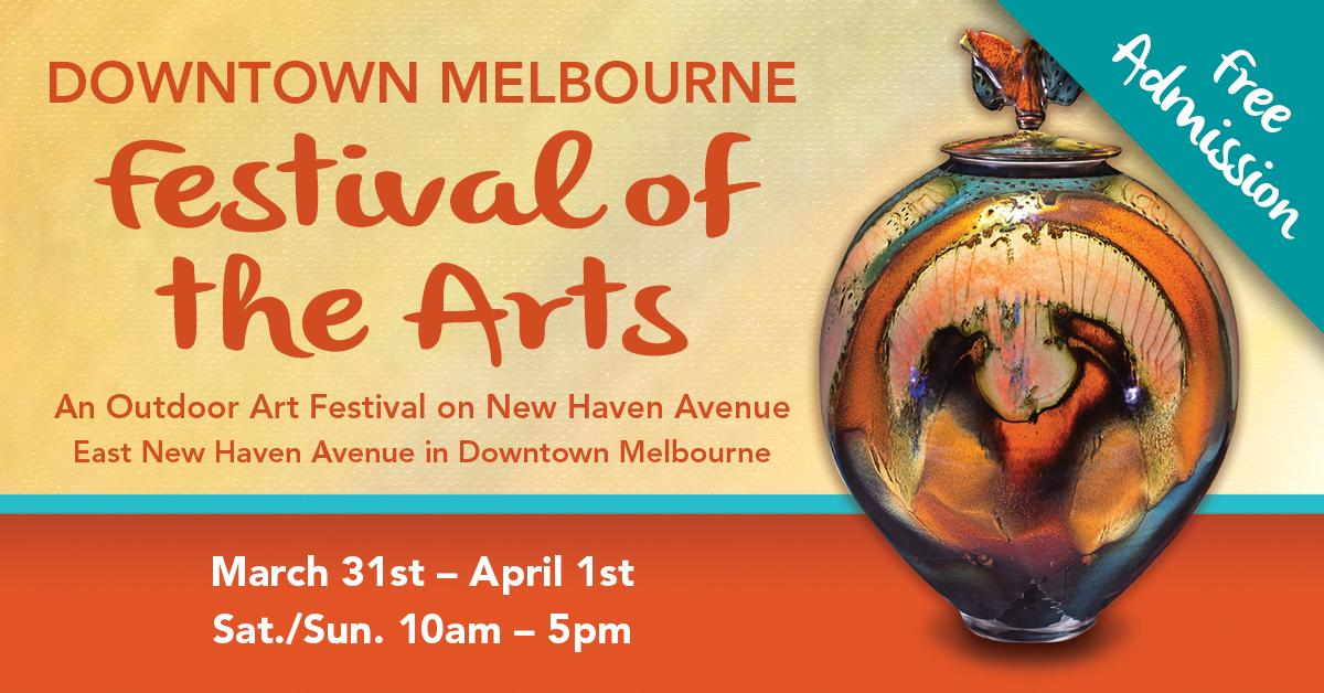 2nd Annual Downtown Melbourne… Festival of the Arts on New Haven Avenue