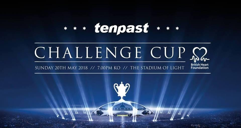 THE TENPAST CHALLENGE CUP 2018 // in support