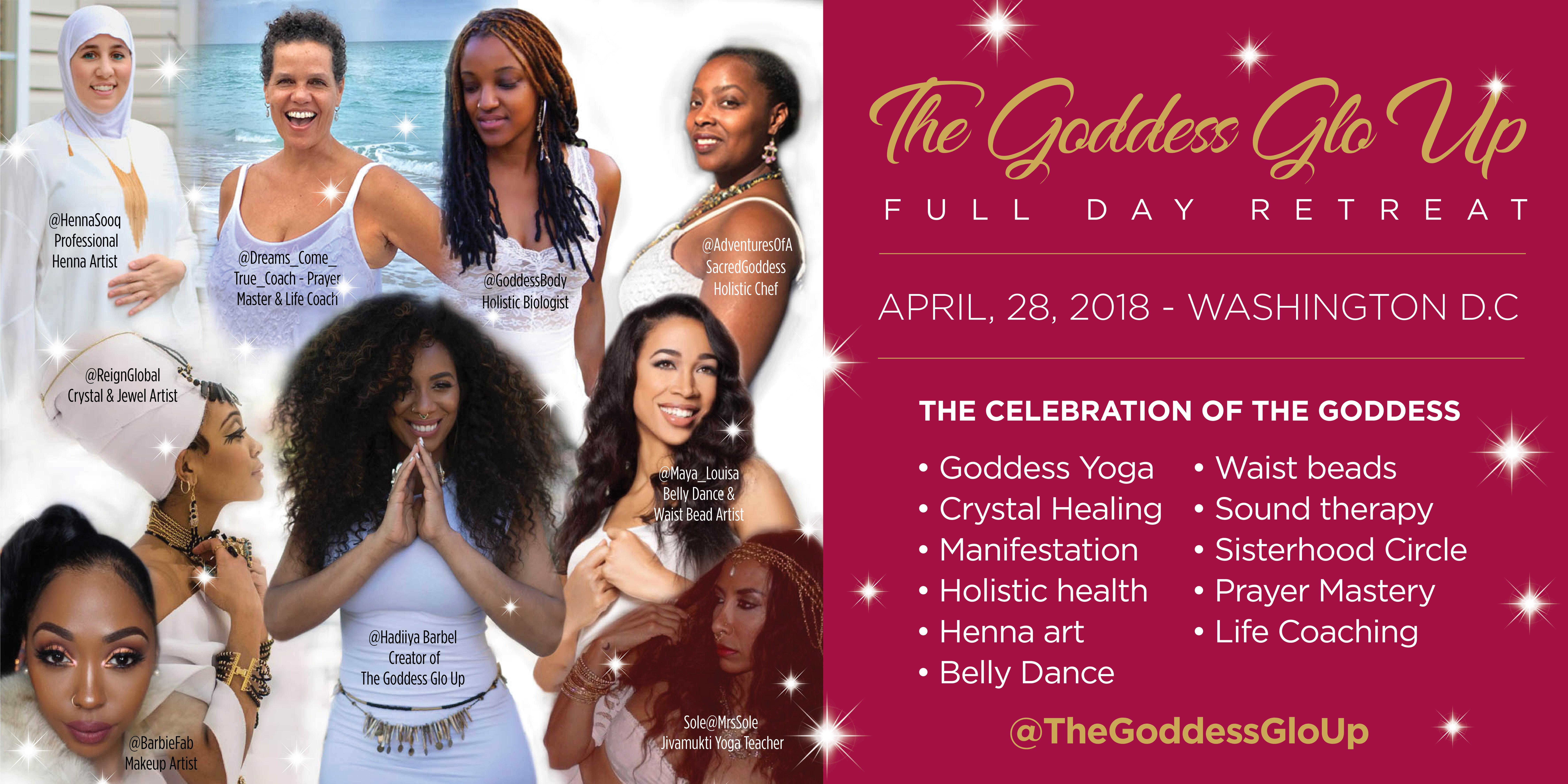 The Goddess GLO UP   Washington, DC
