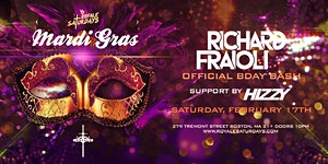 Mardi Gras Bash ft. Richard Fraioli Royale Saturdays |...