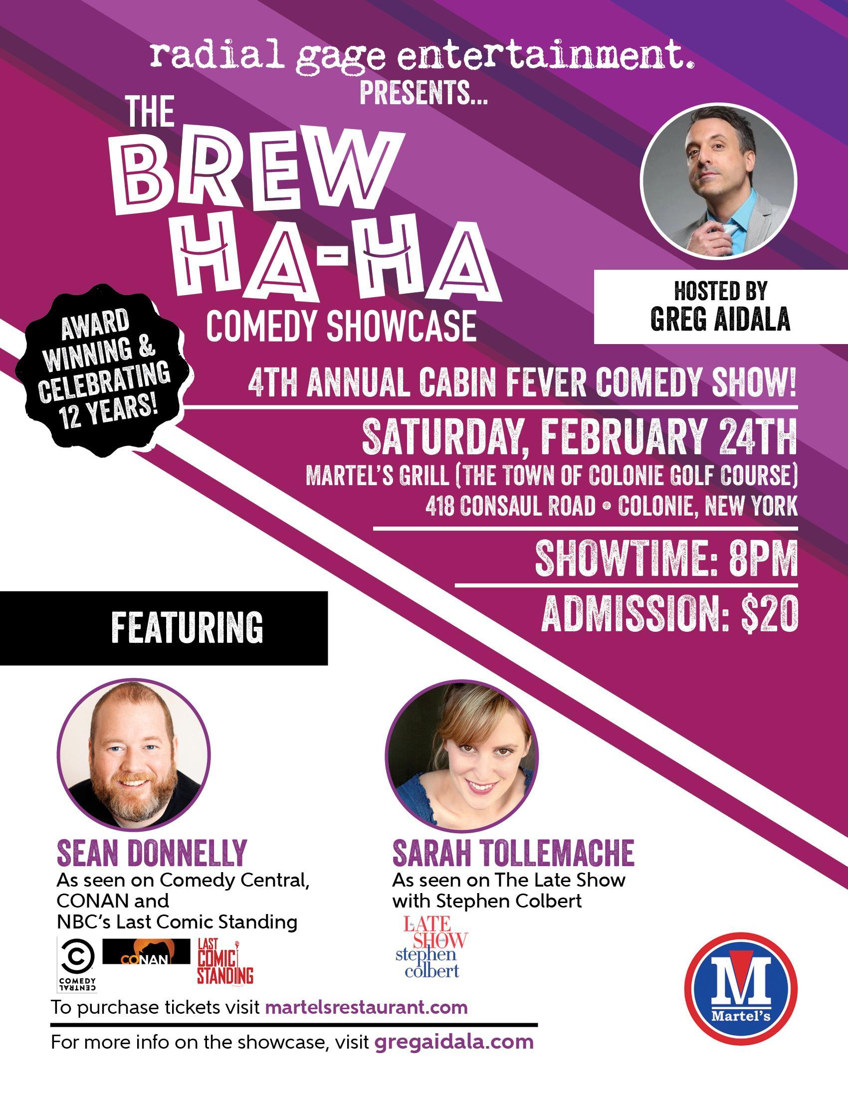 Martel's Brew Ha Ha Comedy Show
