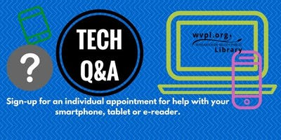 WVPL Tech Q&A at the Lower Gwynedd Township Bldg., Nov. 20 , 1-3PM