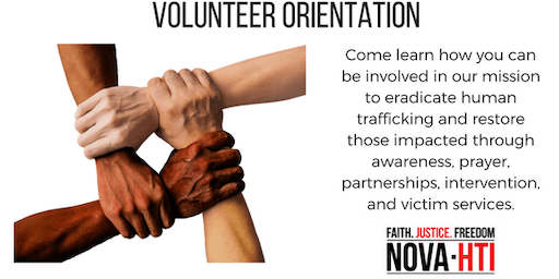 NOVA-HTI Volunteer Orientation