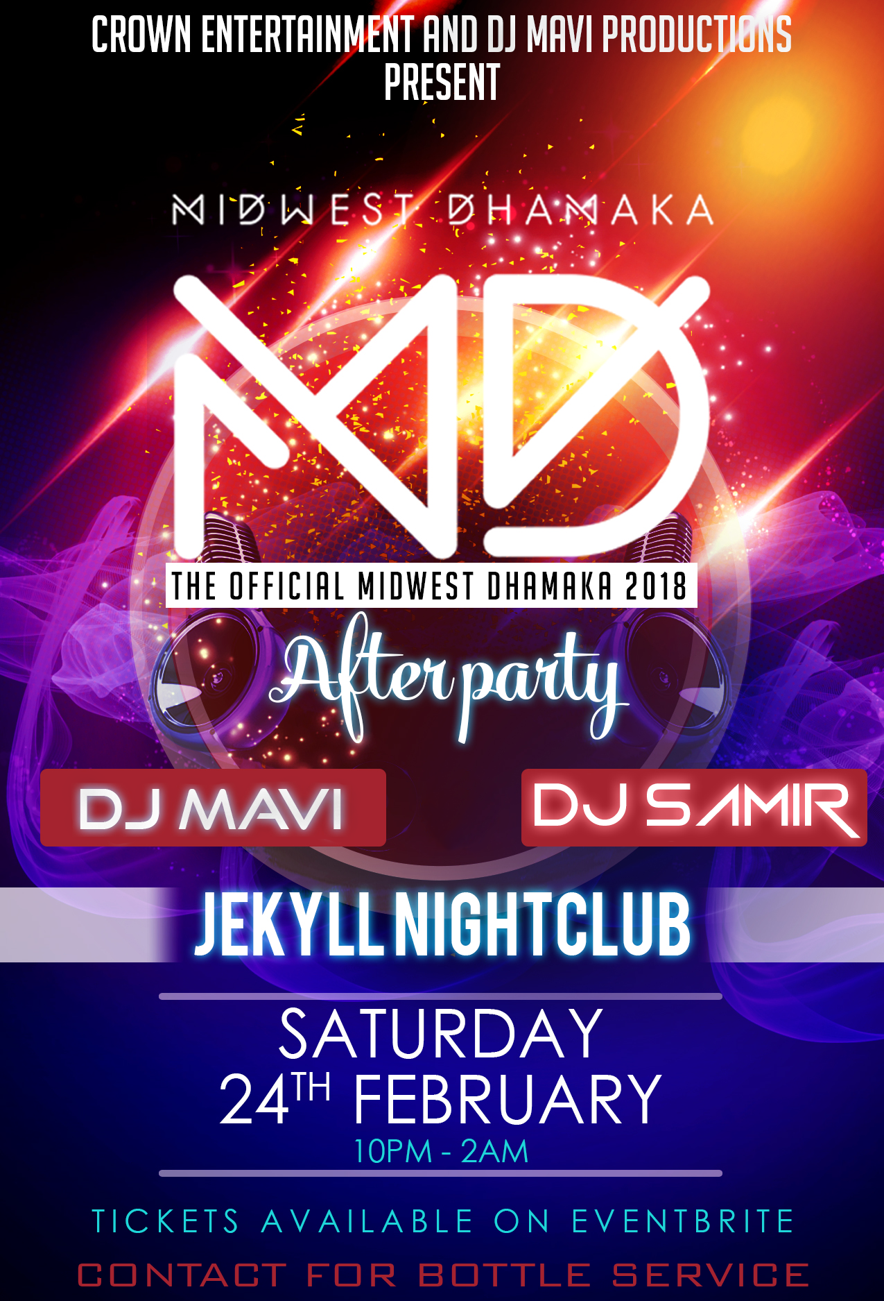 Midwest Dhamaka 2018: Official After Party