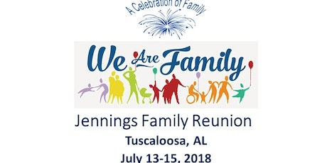 2018 Jennings Family Reunion Tickets