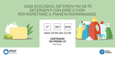 27/09/2018 Seminario Autoproduzione gratuito: Casa Ecologica, detersivi fai da te. detergenti con erbe e fiori a cura di Lucia Cuffaro