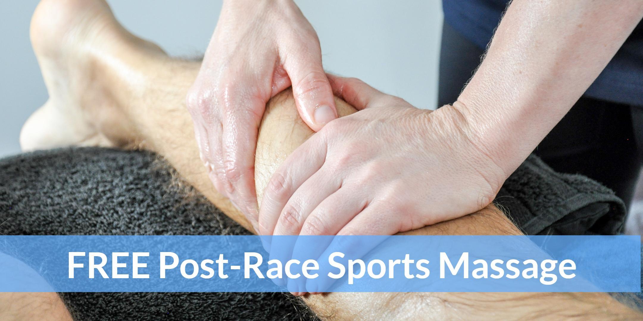 Post-Race Sports Massage Eastleigh 10k