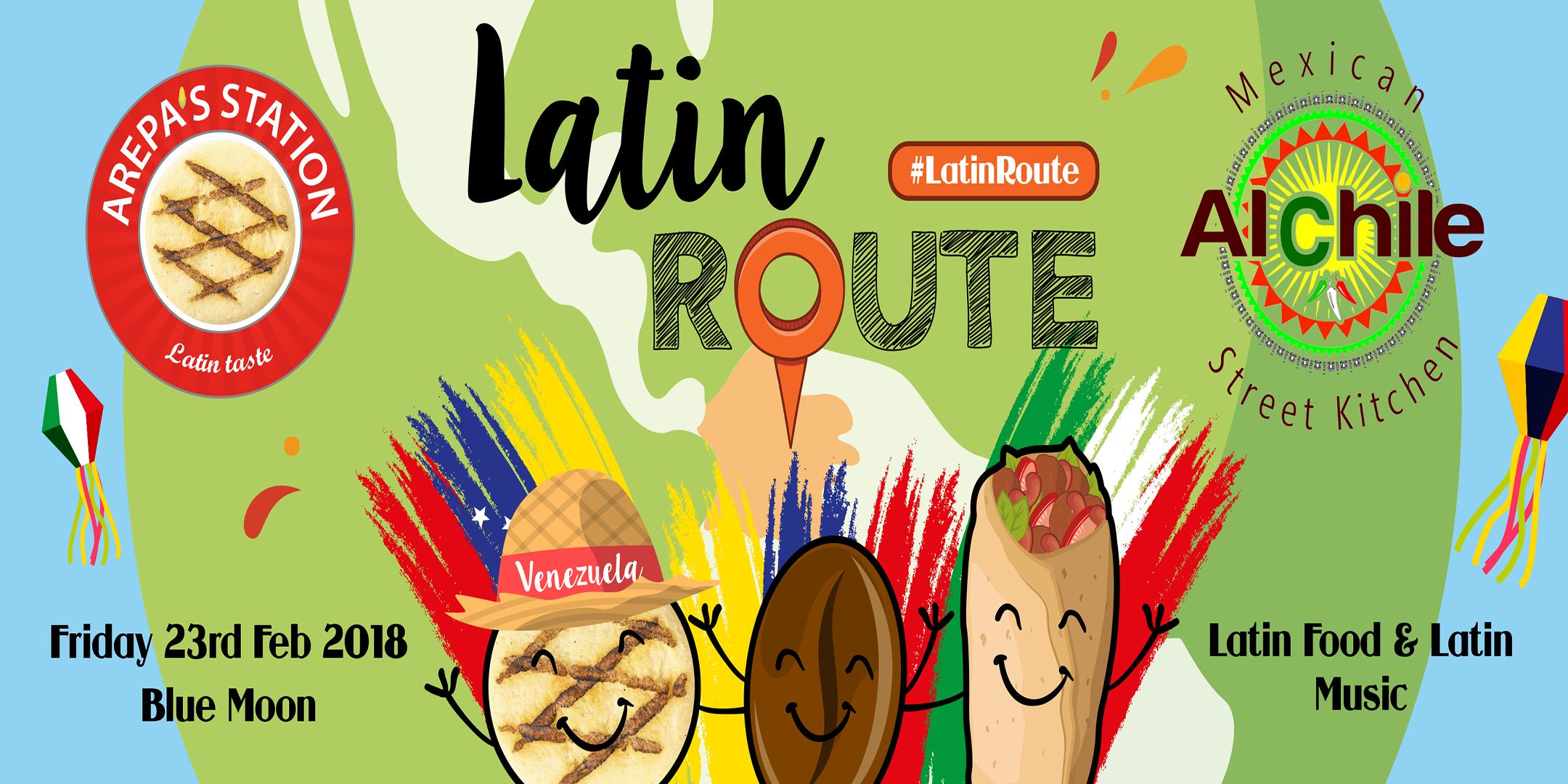 Latin Street Food Route + Music in Cambridge