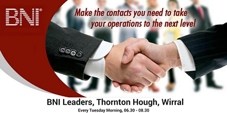 Business Networking on Wirral tickets