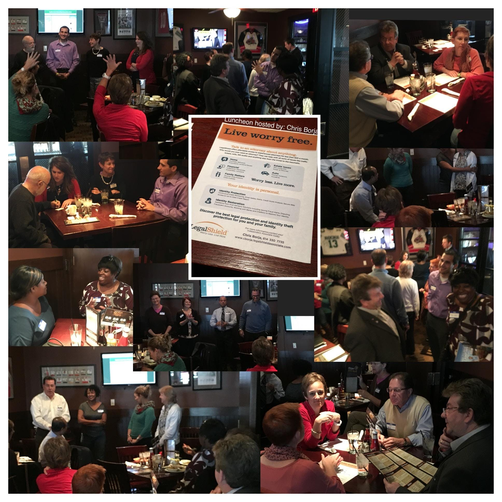 Business Networking Luncheon at the Rusty Buc