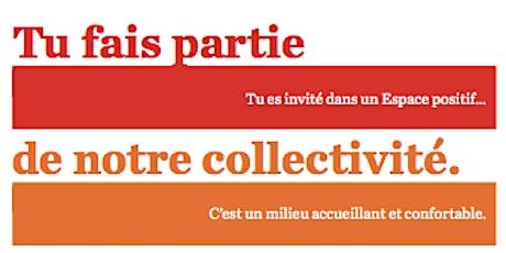 Formation sur les espaces positifs Ottawa- Repenser les concepts d'équité pour les migrants LGBTQIA+  billets