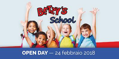 BETZY'S SCHOOL OPEN DAY | 24 febbraio 2018