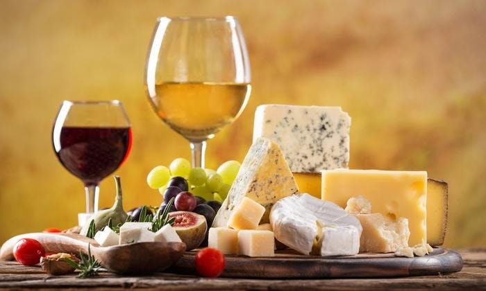 Tasting Sessions: Wine & Cheese