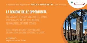 La Regione delle opportunità - Rieti