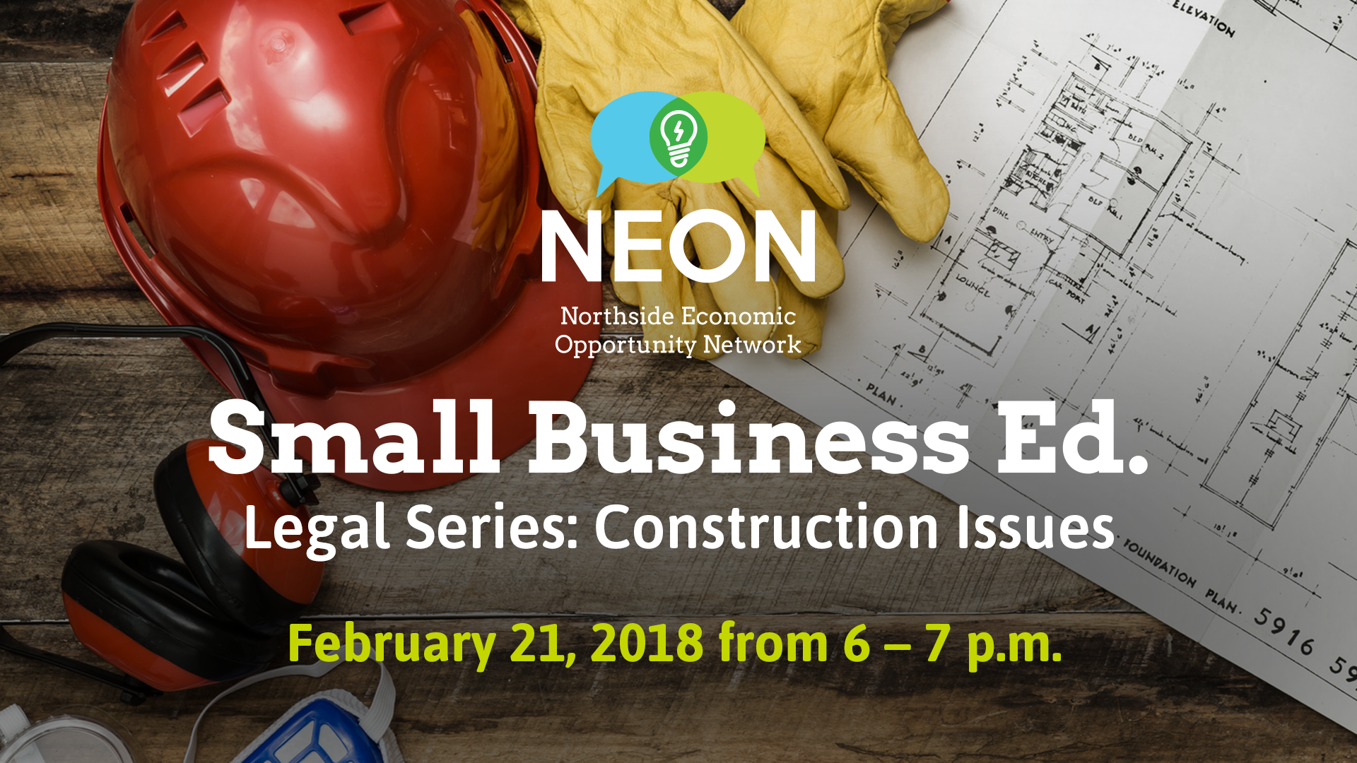 Small Business Ed. Legal Series: Construction