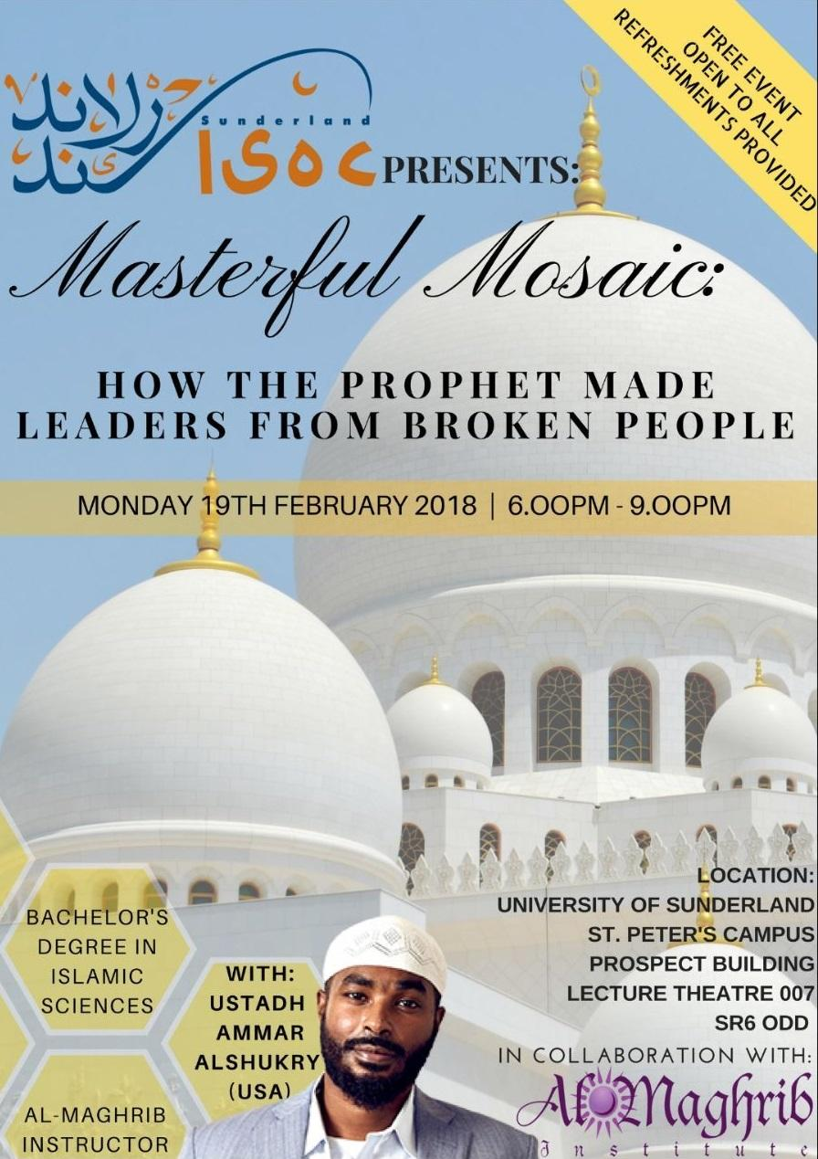 Masterful Mosaic: How The Prophet Made Leader