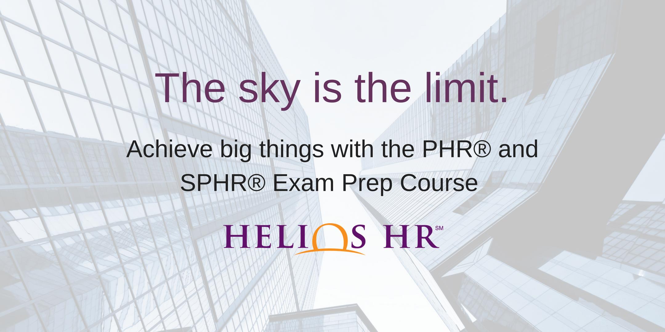 Phr shrm exam prep course by helios hr 13 mar 2018 phr shrm exam prep course by helios hr 1betcityfo Images