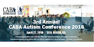 CABA Autism Conference 2018