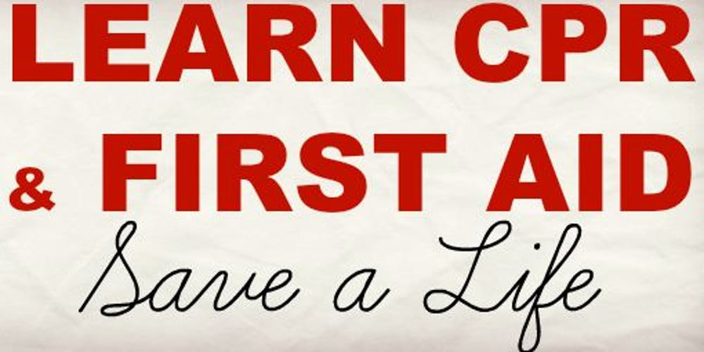 Combo Basic Cpraed And Basic First Aid Certifications Tickets