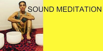 SOUND MEDITATION - Crystal Singing Bowl Moon Meditation