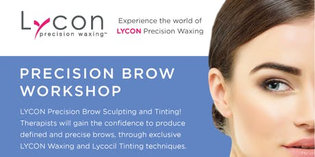 Precision Brow Watch & Learn tickets
