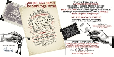 Murder Mystery at Saratoga Arms