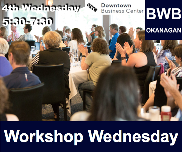 May - BWB Workshop Wednesday