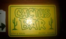 Cactus Bar logo