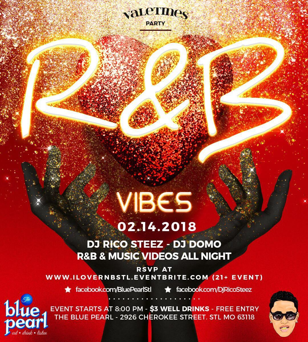 I Love R&B (Valentines Party)