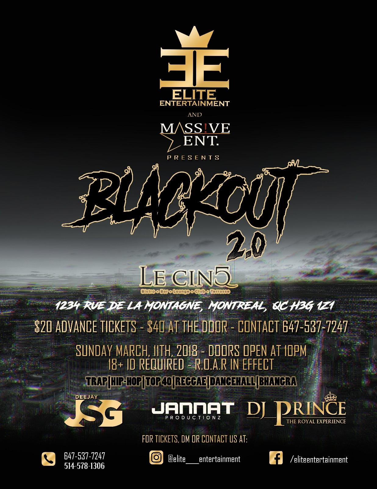 BLACK OUT 2.0