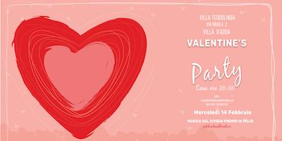 VILLA TEODOLINDA -VALENTINE\'S PARTY- - Villa d\'Adda - mercoledì 14 feb