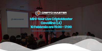 Mini-tour Live CriptoMaster