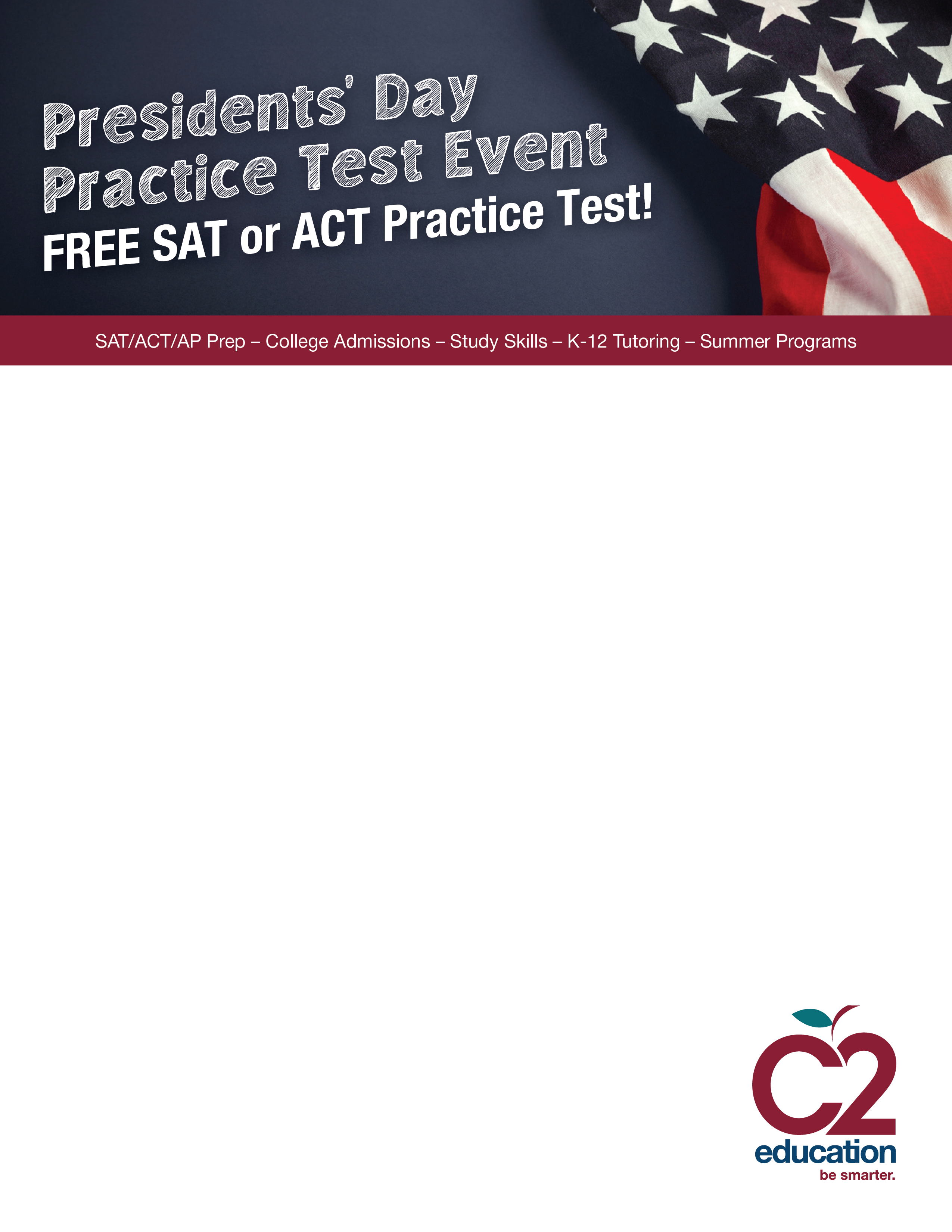Free SAT/ACT Practice Test Event